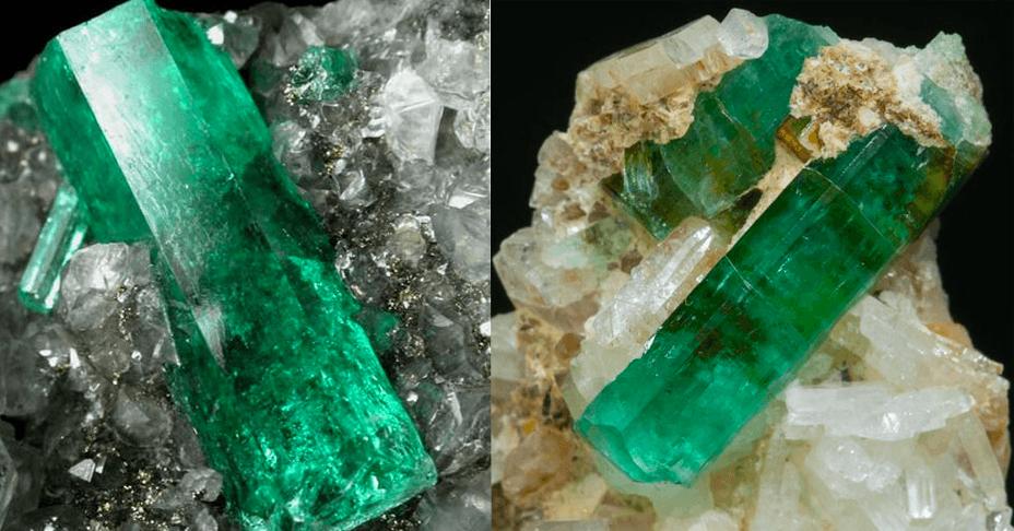 El color de la esmeralda