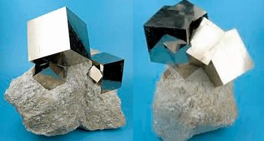 piedra pirita de hierro