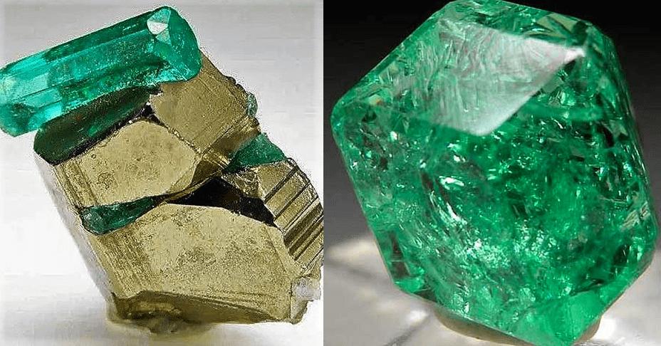 Las propiedades de la esmeralda
