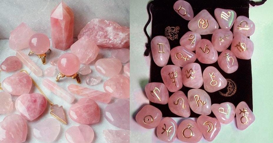 Significado espiritual del Cuarzo rosa